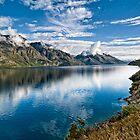 Beautiful Lake Wakatipu New Zealand by Chris  Randall