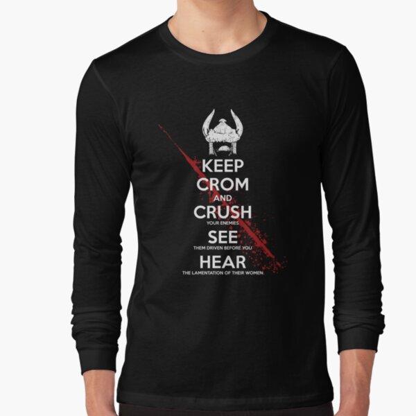KEEP CROM Long Sleeve T-Shirt