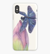 Dragonfly & Lotus iPhone Case/Skin