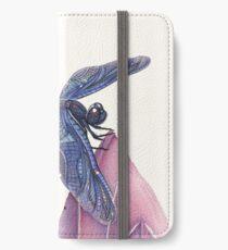 Dragonfly & Lotus iPhone Wallet/Case/Skin