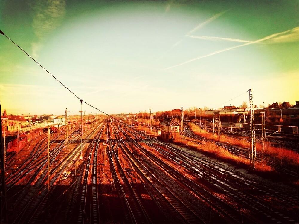 rail road trail - horizon by K4liva