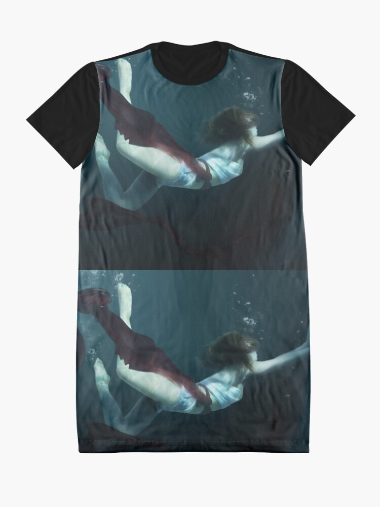Alternate view of Concrete Cell Graphic T-Shirt Dress