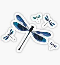 Dragonfly Flurry | Magical Insects  Sticker
