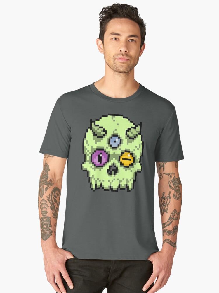 toxic 3 eye Men's Premium T-Shirt Front