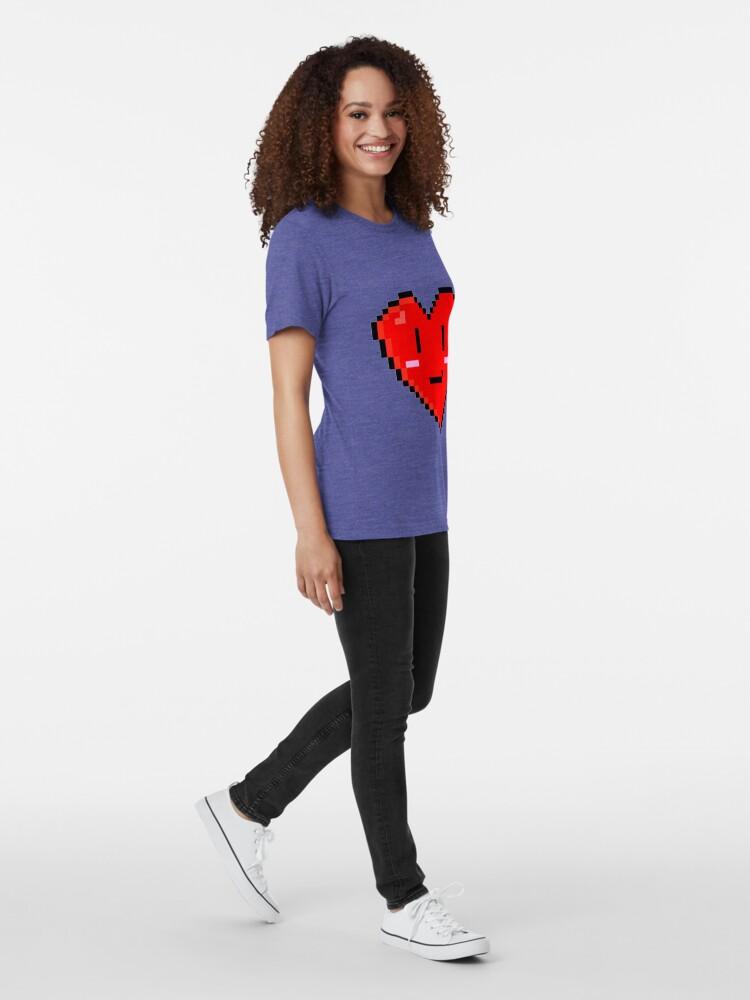 Alternative Ansicht von Retro Valentinsgrüße Vintage T-Shirt