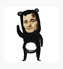 Bill Murray - BEAR Photographic Print