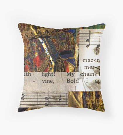 King of Hearts--Majestic Throw Pillow