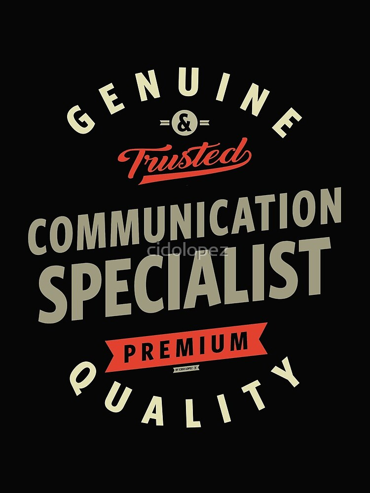 Communication Specialist by cidolopez