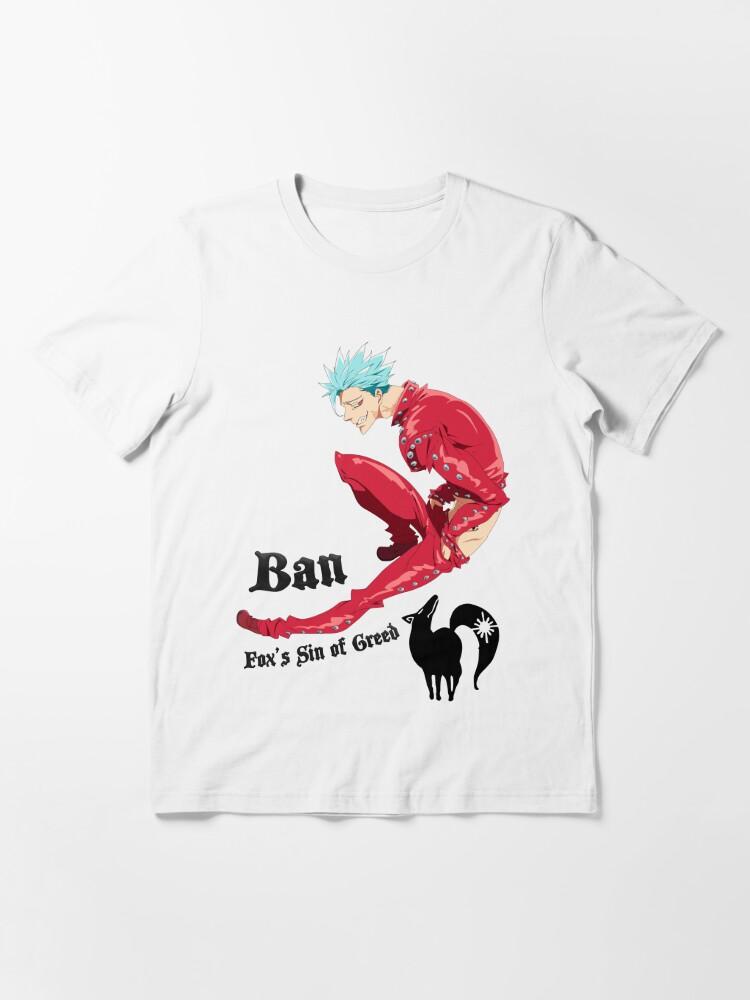 Alternate view of Nanatsu no Taizai Ban Essential T-Shirt