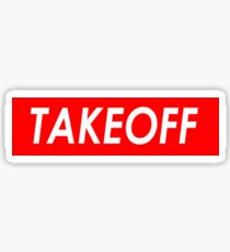 TAKEOFF Sticker