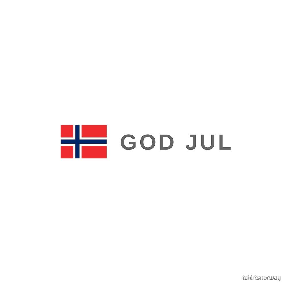 God jul | Merry Christmas Norway by tshirtsnorway