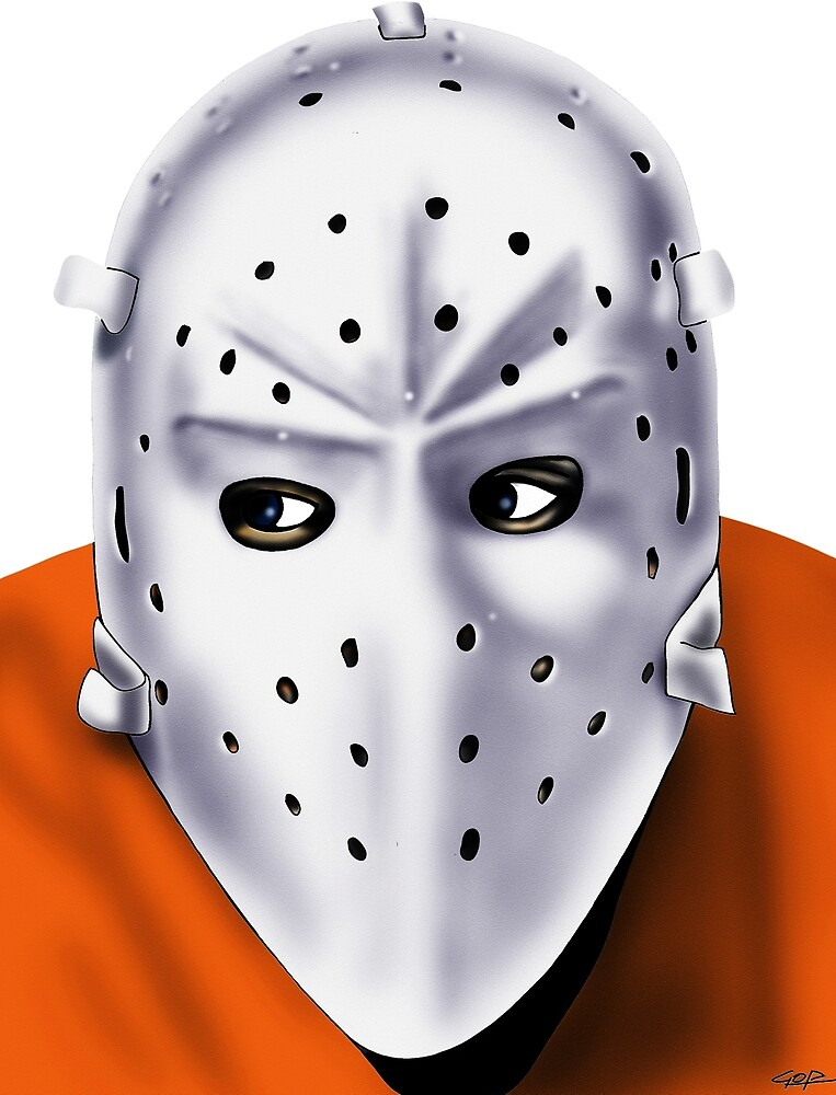 Philadelphia Hockey Goalie Mask 1980s by AnarKissed