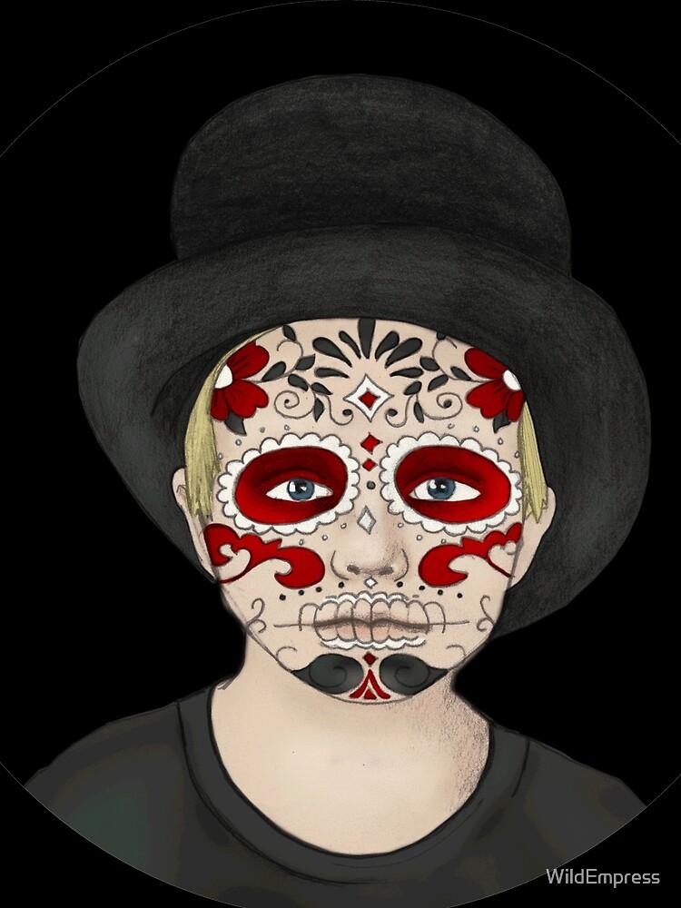 Sugar Skull Boy by WildEmpress
