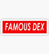 FAMOUS DEX Sticker