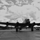 Taxi Back To Dispersal - Avro Lancaster 'Just Jane' by PathfinderMedia