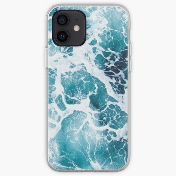 Beautiful Ocean Waves Aerial View Phone Case iPhone Soft Case