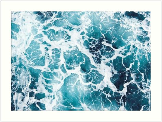 2d01f28695e Beautiful Ocean Waves Aerial View Phone Case