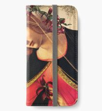 She Wore a Crown of Amaryllis iPhone Wallet/Case/Skin