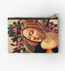 She Wore a Crown of Amaryllis Zipper Pouch