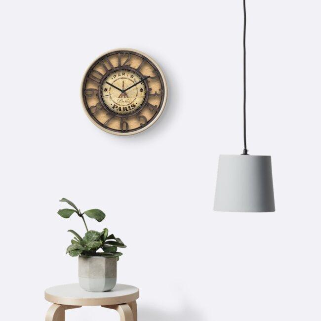 Paris Clock by AmericanPoison