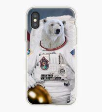 Polar Bear Astronaut iPhone Case