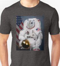 Polar Bear Astronaut T-Shirt