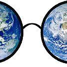 Earth sunglasses by juliannafeit