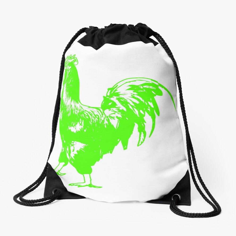 Rooster Drawstring Bag