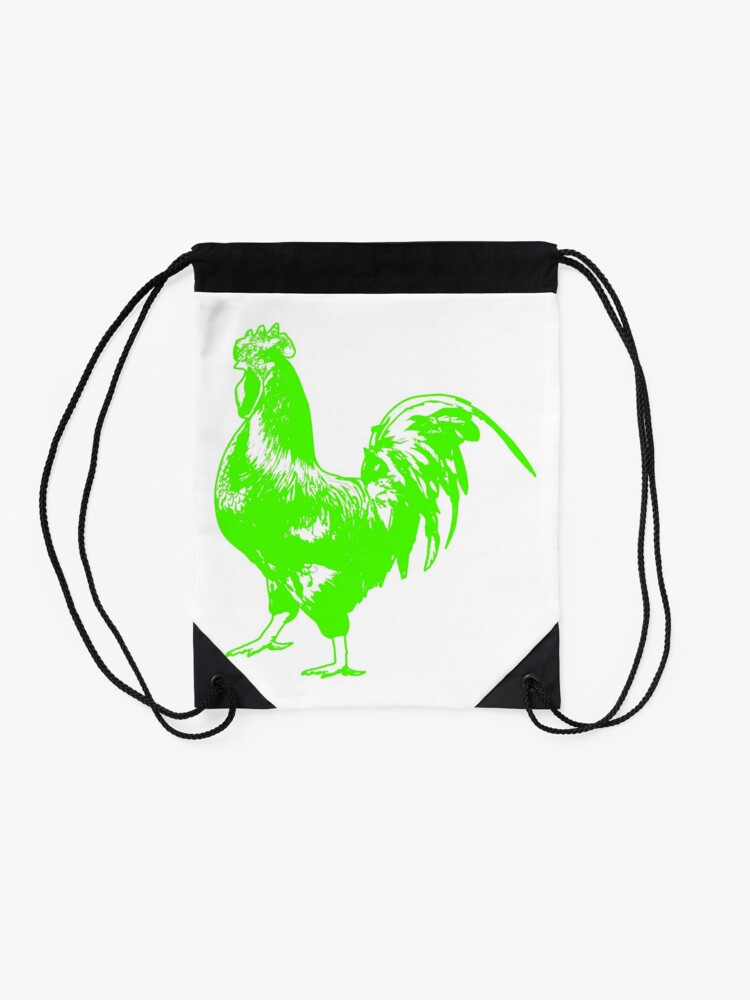 Alternate view of Rooster Drawstring Bag