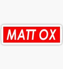 MATT OX Sticker