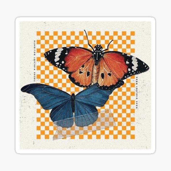 hopeless fountain kingdom butterfly design Sticker