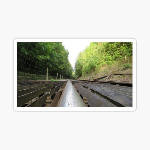 Railway Track no Trucks Sticker