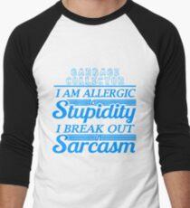 GARBAGE COLLECTOR Men's Baseball ¾ T-Shirt
