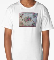 Old Country NeedlePoint Rose Chintz Long T-Shirt