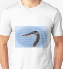 Great Blue Heron Portrait T-Shirt