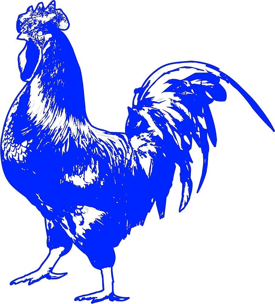 Rooster by birdsbirds