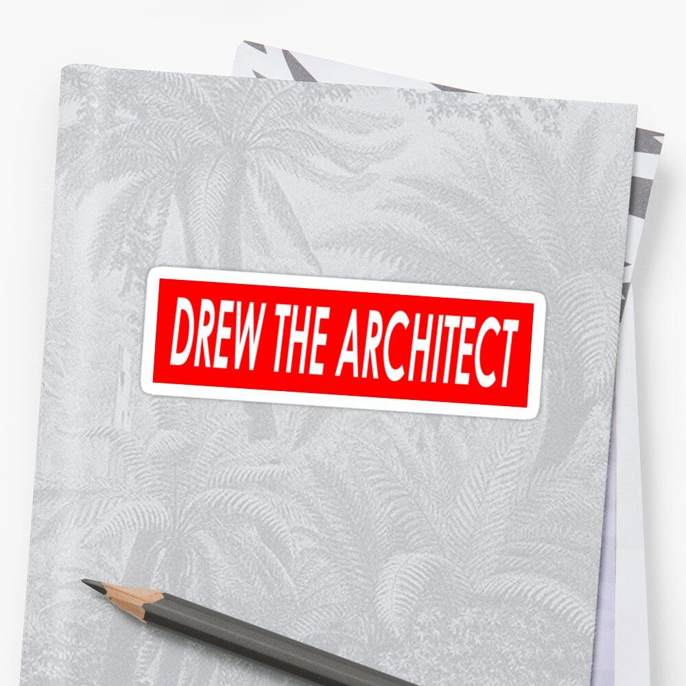 DREW THE ARCHITECT by VeryRaree