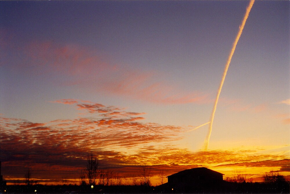 Michigan Sunset by merbelle