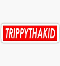 TRIPPYTHAKID Sticker