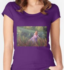 Katie's World #1 Fitted Scoop T-Shirt