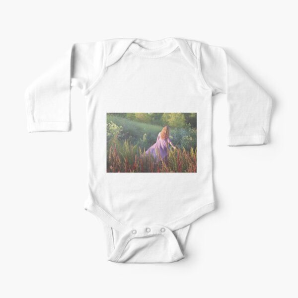 Katie's World #1 Long Sleeve Baby One-Piece