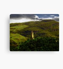 The Wallace Monument , Scotland Canvas Print
