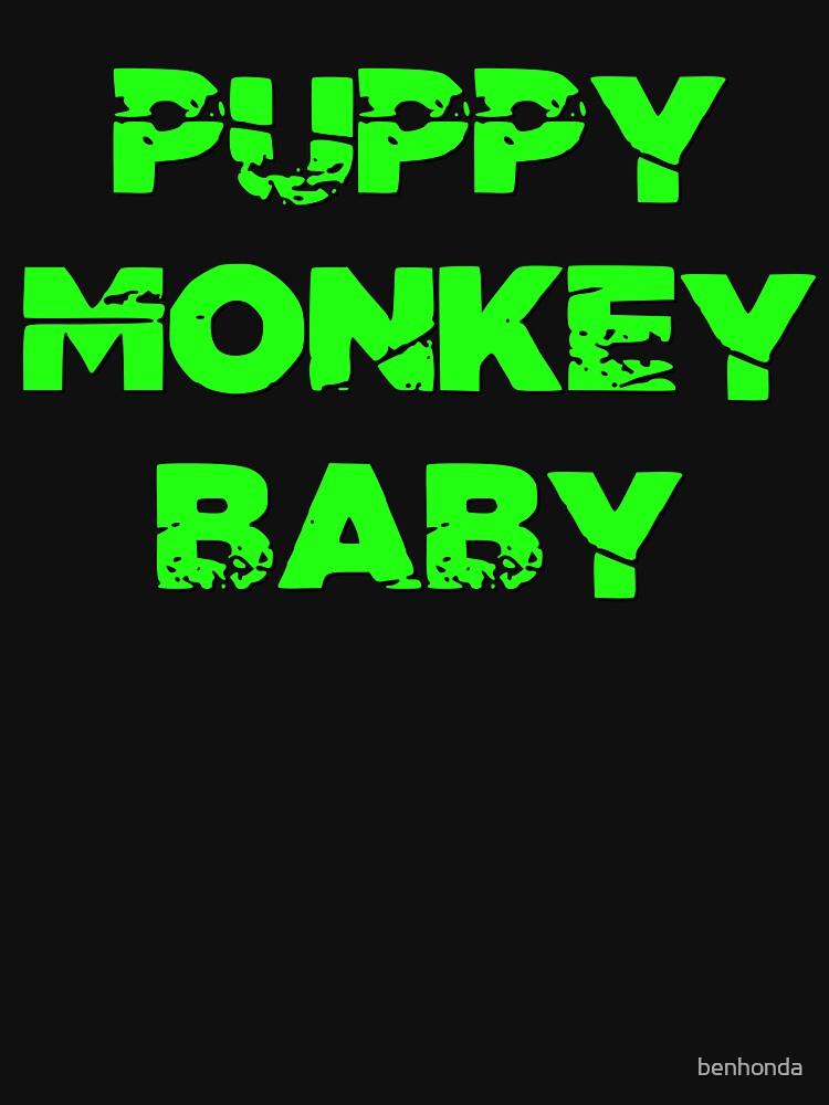Puppy Monkey Baby  by benhonda
