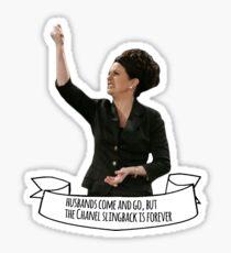 Karen Walker Sticker
