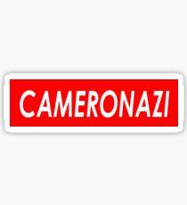 CAMERONAZI Sticker