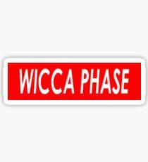 WICCA PHASE Sticker