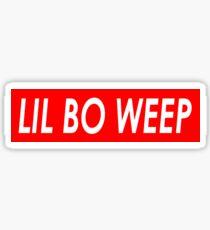 LIL BO WEEP Sticker