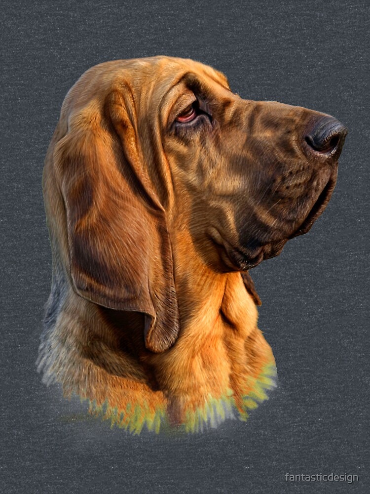Hound Dog Unique Strength; Excellent Scent Recognition by fantasticdesign