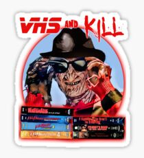 VHS and Kill Sticker