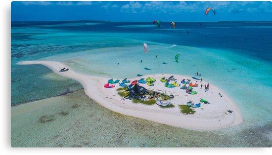 saky saky aerial view waterscape Archipelago Los Roques Venezuela by losroquesdive